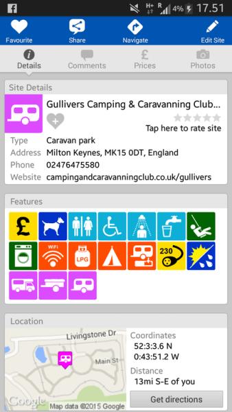 Gullivers Milton Keynes Campsite