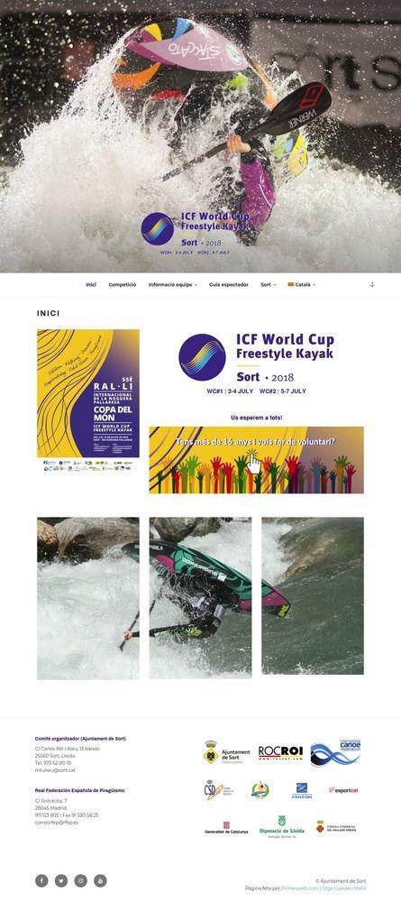 Copa del Món de Kayak Estil Lliure 2018