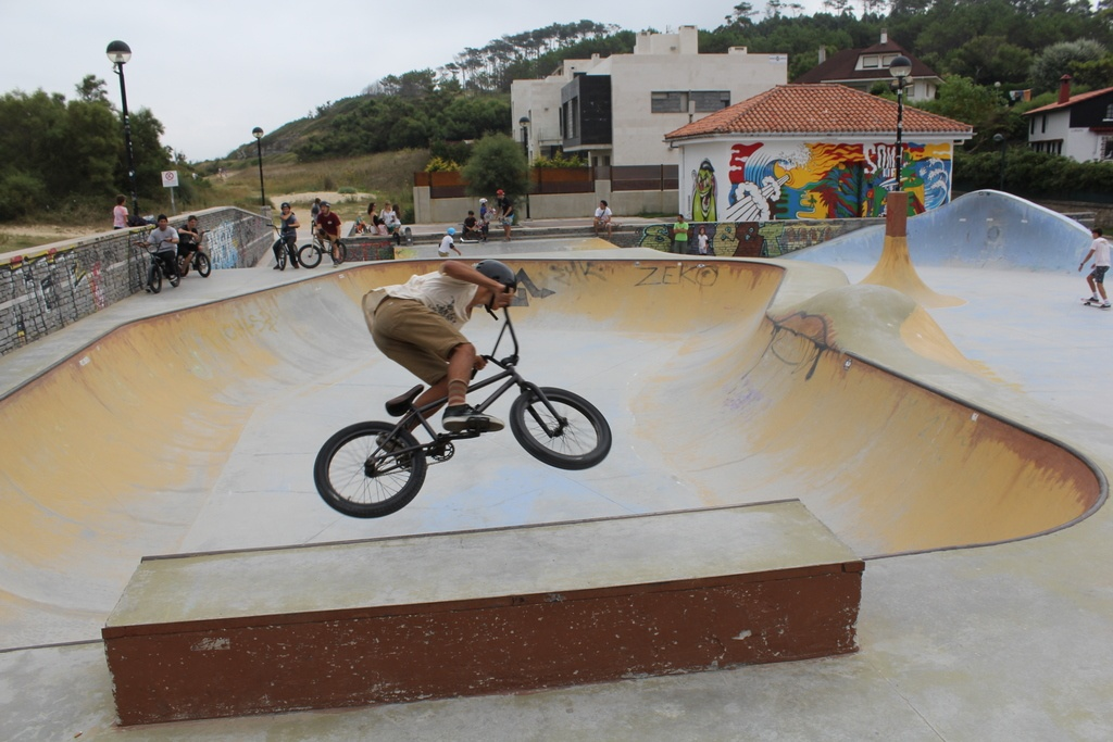 Skatepark a la platja de Somo