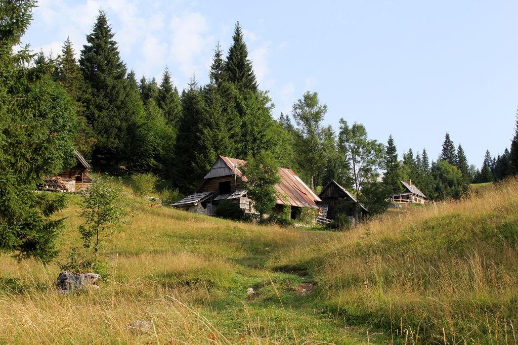 Les cabanes de Goreljek