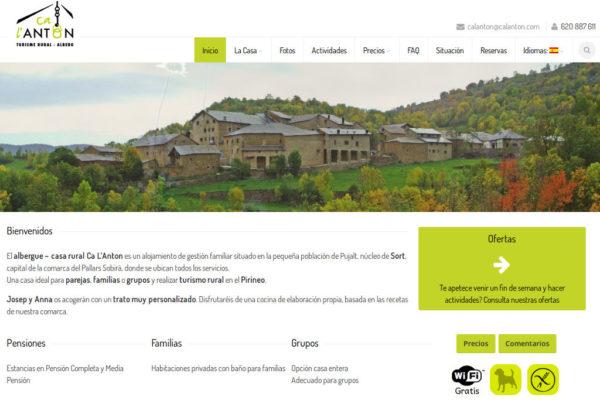 Ca l'Anton, Pujalt, Pallars Sobirà
