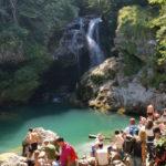 Cascada de la Vintgar gorge