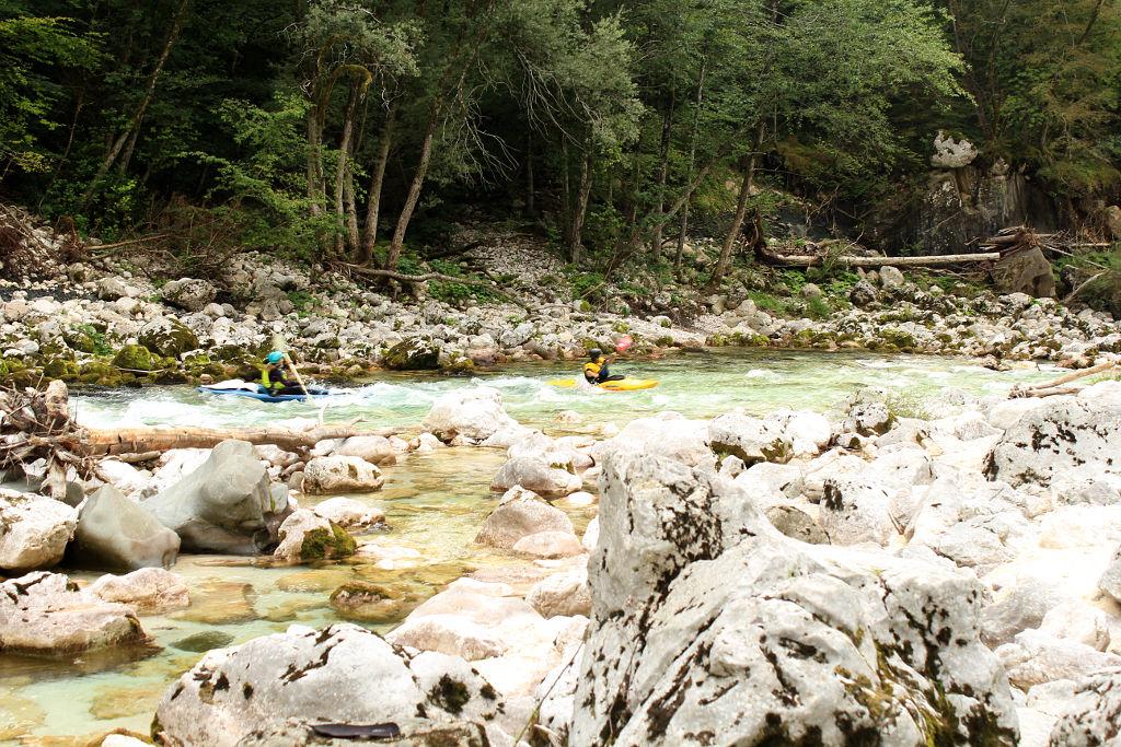 Descens Soca river