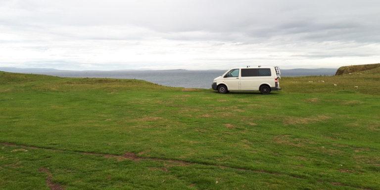 Triar lloc per dormir en furgo a Escòcia