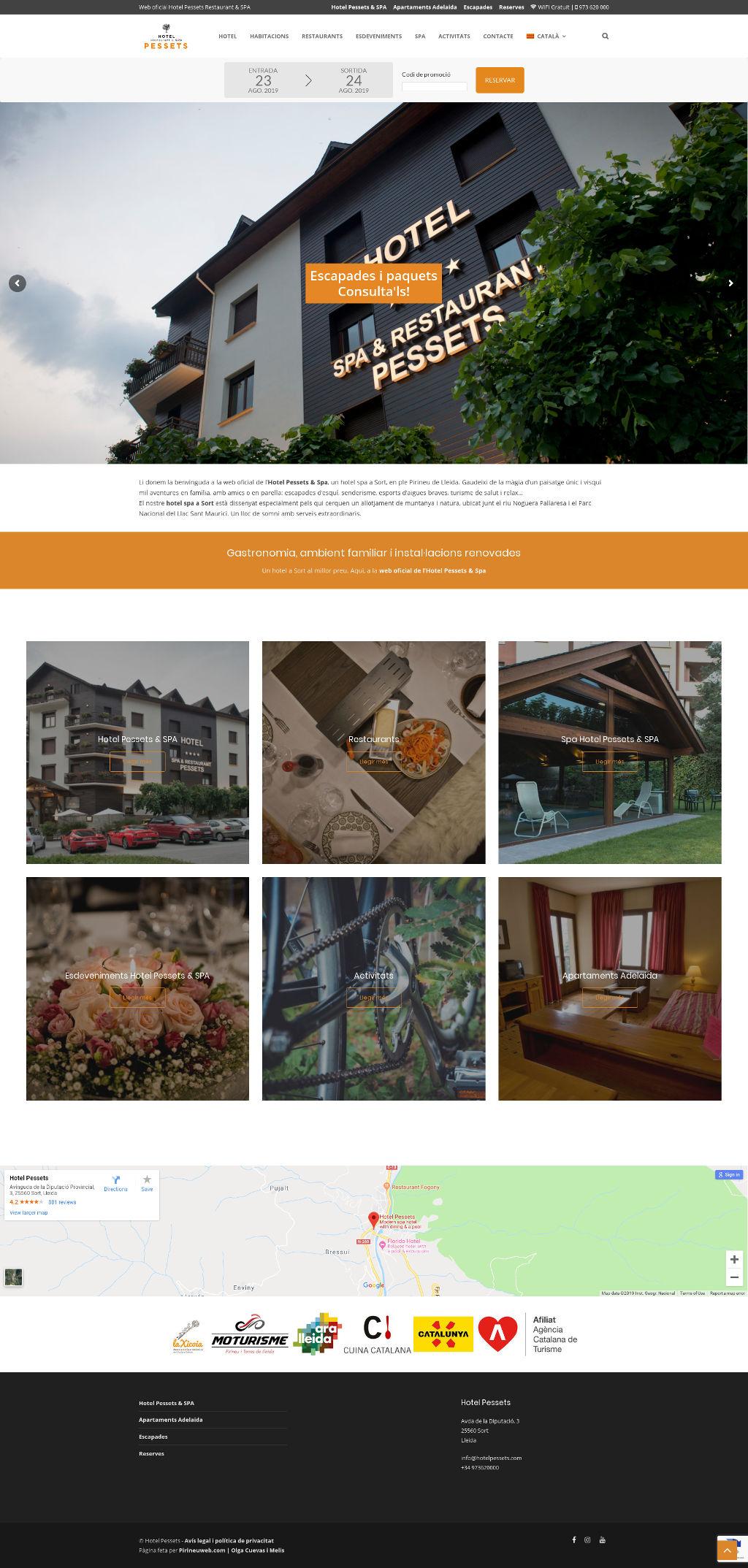 Hotel Pessets Restaurant & SPA