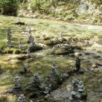 Carregant-se l'ecosistema a la Vintgar Gorge