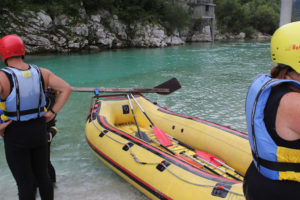 Ràfting al riu Soca