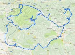 Ruta per Eslovènia
