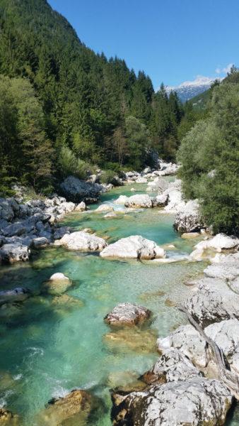 Riu Soča, Eslovenia