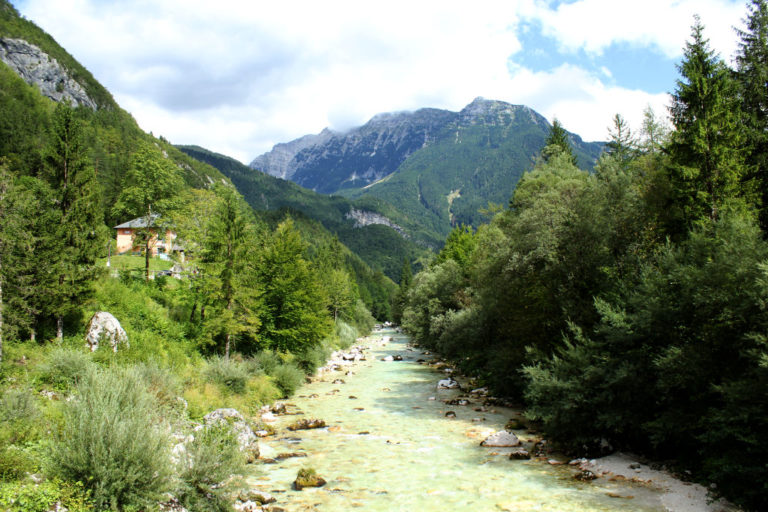 El primer dia a Eslovènia