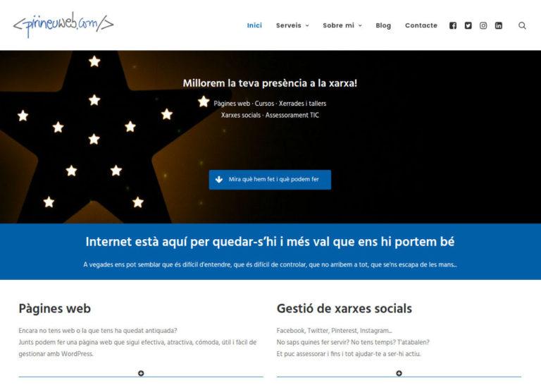 Nova versió Pirineuweb.com